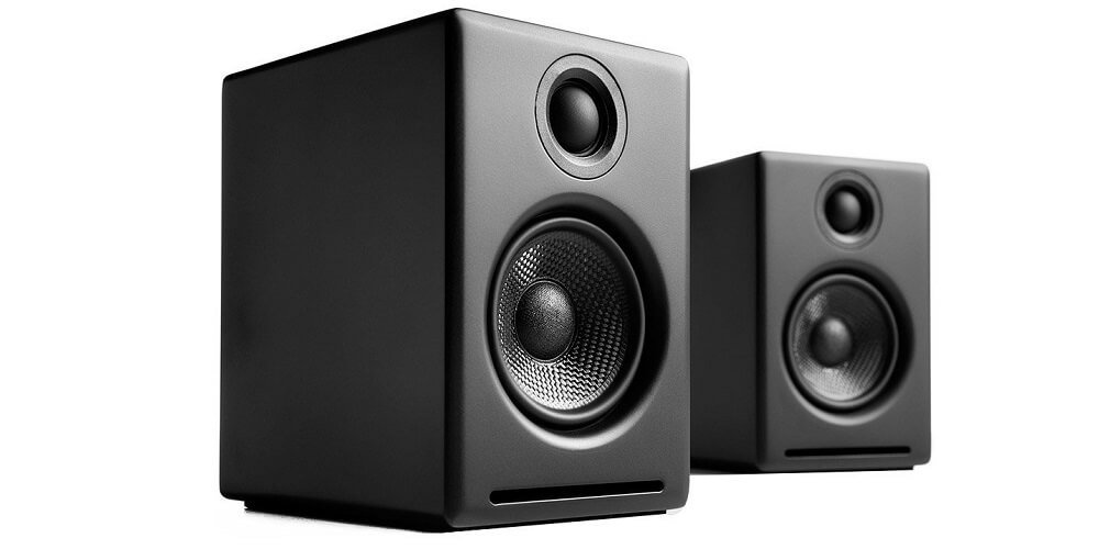 Audioengine A2 + is the best system in the section of the best budget powered speakers